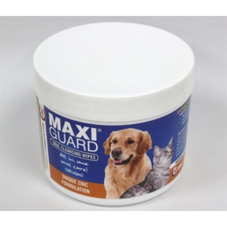 MAXIGUARD ORAL CLEANING WIPES 100ST