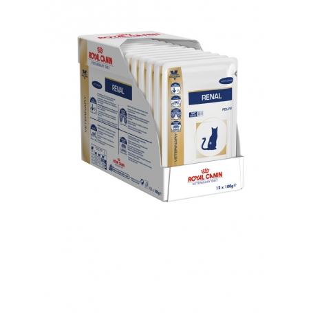 Royal canin Cat RENAL (with chicken) POUCH 12 x 0,085kg