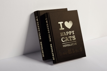 Boek I love happy cats revolutie