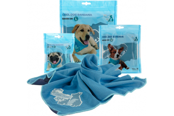 CoolPets Cooling Bandana Groottes