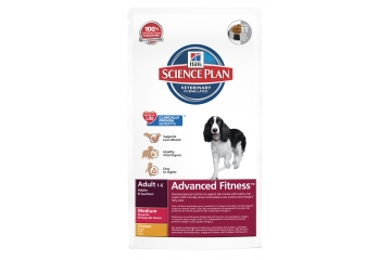 Science Plan Canine Adult Advanced Fitness Medium Chicken