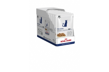Royal canin Veterinary Care: Kat Neutered Weight Balance 12 x 100g