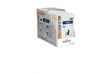 Royal canin Veterinary Diet: Kat Renal Chicken Pouch 12 x 0,085kg